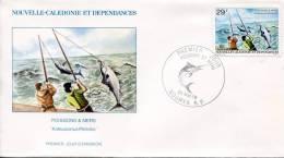 Nouvelle Calédonie    FDC Premier Jour 26 Mai.79      Poissons Et Mers - Nueva Caledonia