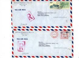 2 LETTRE DE LIMA  - PEROU - AUSTRIA - 1954 - Pérou