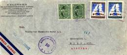 LETTRE DE  GUATEMALA - AUTRICHE - AUSTRIA - 1953 - Guatemala