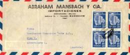 LETTRE DE COCHABAMBA - BOLIVIE -  - AUTRICHE - AUSTRIA - 1954 - Bolivia