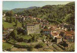 OLLIERGUES - Vue D'Ensemble Sur Le Château Féodal Et Vestiges D'Enceintes Côté Nord - Olliergues