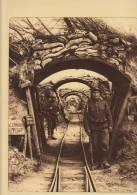 Planche Du Service Photographique Armée Belge Guerre 14-18 WW1 Militaire Fusil Baïonnette Tranchee Petrograde Dixmude - Libri, Riviste & Cataloghi