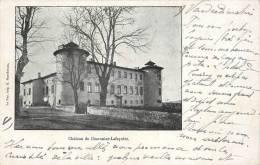 """.  CPA FRANCE  43  """"  Chavaniac Lafayette, Le Château De Chavaniac Lafayette  """" - France"""
