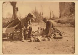 Planche Du Service Photographique Armée Belge Guerre 14-18 WW1 Militaire Materiaux Pour Abri Tranchée - Livres, Revues & Catalogues