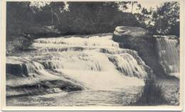CAACUPE SALTO PIRARETA POSTAL VIAJADA EN 1940 PARAGUAY RARE TBE - Paraguay