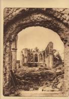 planche du service photographique arm�e belge guerre 14-18 WW1 ruine pervyse