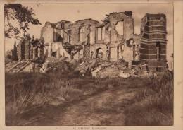 Planche Du Service Photographique Armée Belge Guerre 14-18 WW1 Chateau Blankaert - Libri, Riviste & Cataloghi