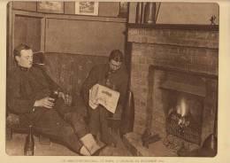 planche du service photographique arm�e belge guerre 14-18 WW1 militaire abri � vinckem