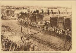 planche du service photographique arm�e belge guerre 14-18 WW1 militaire tranchee du 2�m de ligne oostkerke