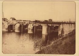 planche du service photographique arm�e belge guerre 14-18 WW1 heyst pont sabote par les allemands