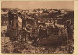 Planche Du Service Photographique Armée Belge Guerre 14-18 WW1 Ferme Dans Les Dunes Nieuport - Altri