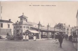 ¤¤  -  562  -  CHALLANS   -  Place Et Halles Au Beurre  -  Marché  -  Rémouleur   -  ¤¤ - Challans