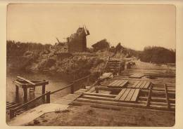 Planche Du Service Photographique Armée Belge Guerre 14-18 WW1 Pont De Jonction Anglo Belge - Livres, Revues & Catalogues