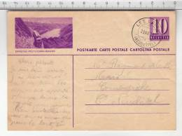 Entier Postal / Ganzsache - Brienz-Rothorn-Bahn (1938) - Entiers Postaux