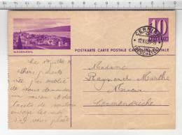 Entier Postal / Ganzsache - Wädenswil (1939) - Entiers Postaux