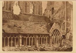 planche du service photographique arm�e belge guerre 14-18 WW1 ruine eglise saint martin ypres