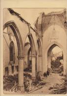 Planche Du Service Photographique Armée Belge Guerre 14-18 WW1 Ruine Eglise De Loo - Sonstige