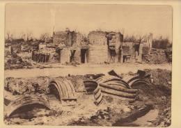 planche du service photographique arm�e belge guerre 14-18 WW1 briqueterie de caeskerke