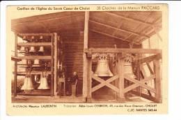 Carillon De L'Eglise Du Sacré Coeur De Cholet  --  38 Cloches De La Maison PACCARD - Cholet