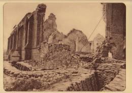 planche du service photographique arm�e belge guerre 14-18 WW1 ruine eglise de nieuwcappelle