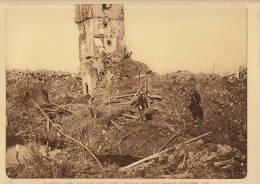planche du service photographique arm�e belge guerre 14-18 WW1 observatoire allemand rest� debout � dixmude