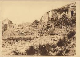 Planche Du Service Photographique Armée Belge Guerre 14-18 WW1 Ruine Les Moins éprouvées De Dixmude - Altri