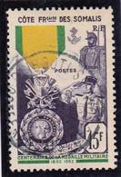 COTE DES SOMALIS - YVERT N° 284 OBLITERE - COTE = 11 EUR. - Oblitérés