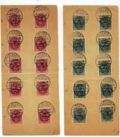Lötzen - 40 STAMPS -  TRAITE DE VERSAILLES - 10X5C - 10X10C - 20X15C - 1920 - Allemagne