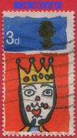 1966 - Europe - Grande-Bretagne - Noël - 3 P. Roi Mage - - Used Stamps