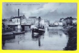 * Oudenaarde - Audenarde (Oost Vlaanderen) * (SBP, Nr 26) L'escaut Au Quai Marie Louise, Péniche, Bateau, TOP CPA, Quai - Oudenaarde