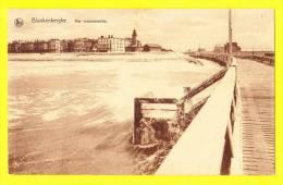 * Blankenberge - Blankenberghe (Kust) * (Nels, Série 10, Nr 10) Mer Mouvementée, Tempete, Pier, Estacade, CPA, Old - Blankenberge