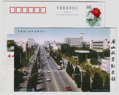 New Tangshan City Street,China 2000 Great Tangshan Earthquake Memorial Hall Advertising Pre-stamped Card - Andere
