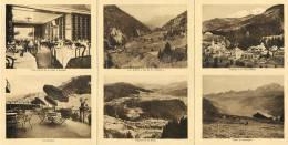 FLUMET HOTEL DU MONT-BLANC DEPLIANT PUBLICITE LES ARAVIS PLAN 73 SAVOIE - Advertising