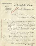 IRUN HENDAYE PASAJES  EDMOND HABRANS  Agencia De Aduanas  Comision Consignacion Transito 7.09.1905 - Espagne