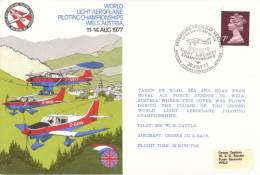 GB - World Light Aeroplane Piloting Championship, Wels, Austria  -  Flown FDC - Avions