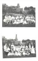 CINEY - Lot De 2 Photos Cartes (151)sf39 - Ciney