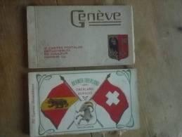 Lot 2 Carnets Genève Et Interlaken - Autres