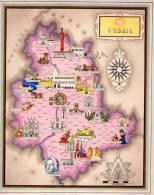 Carta Turistica Iconografica  Umbria - Mappe