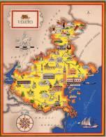 Carta Turistica Iconografica  Veneto - Mappe
