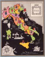 Carta Turistica Iconografica  ITALIA - Mappe