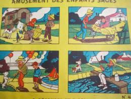 Amusement Des Enfants Sages/ A Découper Et à Coller / N°430/Vers 1930      JE63 - Altre Collezioni