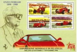 Enzo Ferrari 1898-1988  -  CP - Motorsport