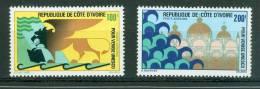 Cote D'ivoire , Yvert PA N°54/55 ** Neuf Sans Charnière - AZ4908 - Ivory Coast (1960-...)