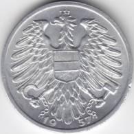 @Y@   Oostenrijk 1 Shilling  1957    UNC    (C474) - Oesterreich