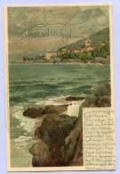 Vintage Card Karte Raoul Frank Kroatien LOVRANA Nach WIEN 1903 (407) - Kroatien