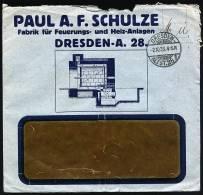 A1442) DR Infla Fa.-Werbebrief Von Dresden 2.10.1923 M. MeF 20x Mi.290 - Deutschland