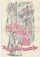 Paris, Histoire, Rue, Maison, Livre, édition, Minuit , Classe Ouverte - Dépliant  Publicitaire, 4 Pages, Pli   (K809) - History