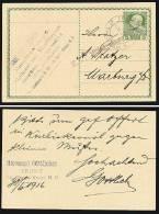 A1445) Austria Österreich Karte Von Triest 30.6.1916 Mit Zensur TRIEST - Briefe U. Dokumente