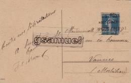 Marcophilie - Cachet - Poste Demandez L'Ouverture Compte Courant. (voir Scan). - Marcophilie (Lettres)