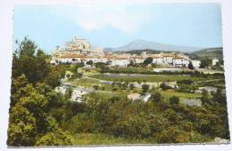LE BARROUX - CPSM 84 - LE CHATEAU  Et Le MONT VENTOUX. - France